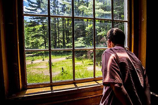 Karol  Livote - Peering Out The Window