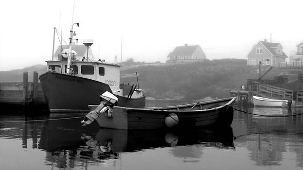 Peggy's Cove by Jennifer Wheatley Wolf