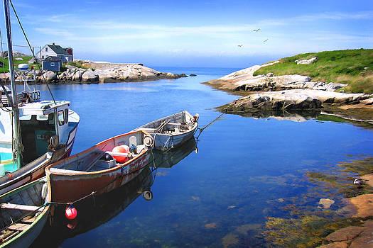 Peggy's Cove by John Robichaud