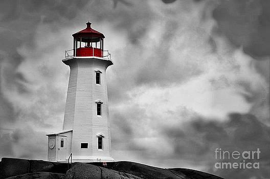 Peggy's Cove Nova Scotia by Daryl Macintyre