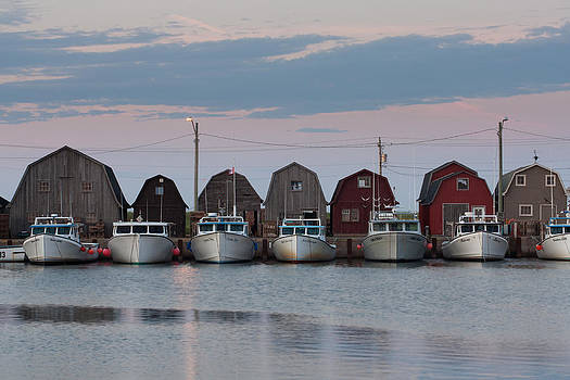 PEI Malpeque Harbour by Matt Dobson