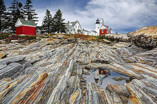 Pemaquid Point Light by Terry Cervi