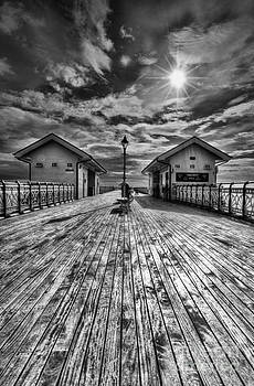 Steve Purnell - Penarth Pier 2 Monochrome