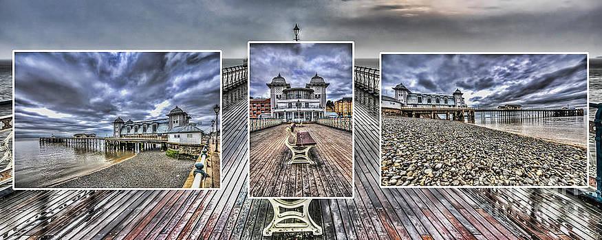 Steve Purnell - Penarth Pier Triptych