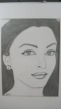 Pencil drawing by Rejeena Niaz