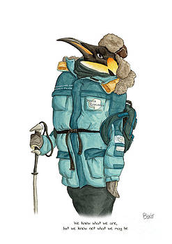 Penguin by Blair Bailie