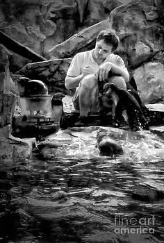 Kathleen K Parker - Penguins and Caretaker at Audubon Aquarium of Americas New Orleans