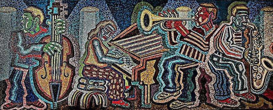 Penn Station Mosaic by Mark Cranston