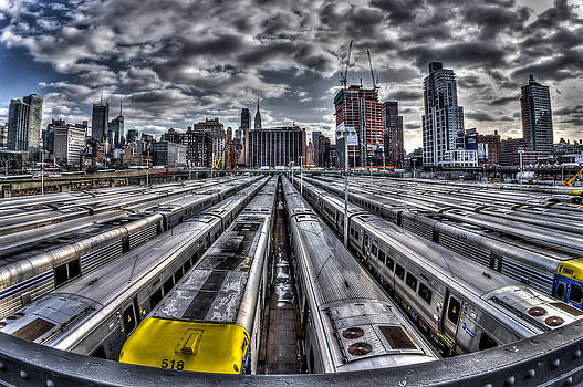 Penn Station Train Yard by Rafael Quirindongo