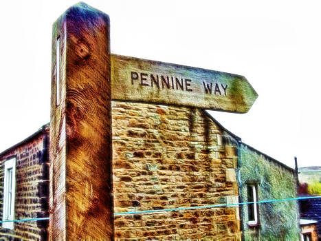 Cindy Nunn - Pennine Way Signpost