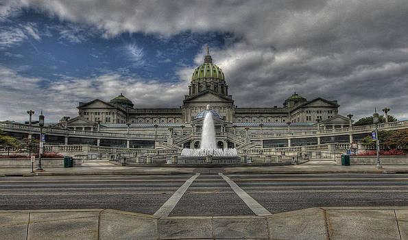 Pennsylvania Capital by Sharon Batdorf