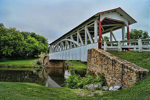 Pennsylvania Covered Bridge by Kathy Churchman