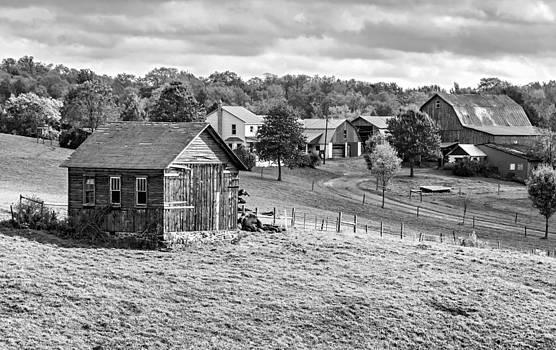 Steve Harrington - Pennsylvania Farm bw