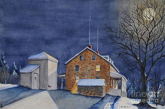 Pennsylvania Moon by John W Walker