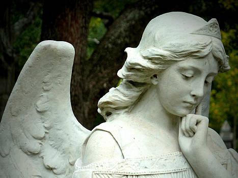 Pensive Angel by Gia Marie Houck