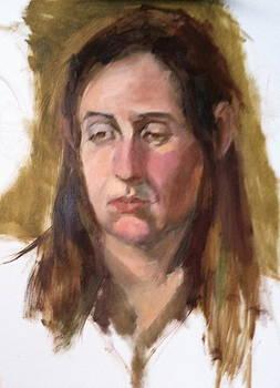 Pensive by Katherine Moldauer