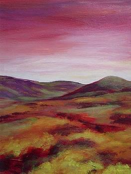 Pentland Hills Scotland by Hazel Millington
