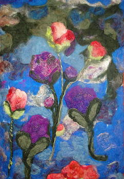 Peonies and Poppies 2 by Shakti Chionis