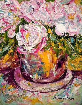 Peonies by Barbara Pirkle