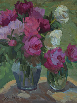Diane McClary - Peonies in the Shade