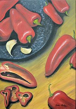 Peppers by Debbie Baker