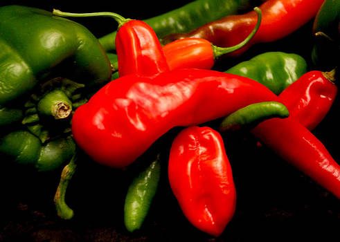 Peppers Hot and Sweet by Shaileen Landsberg