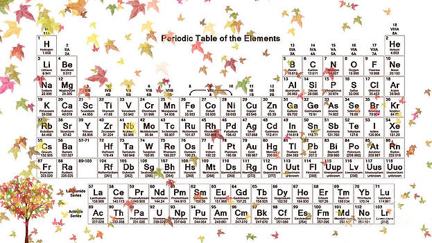 Periodic Table - Fall Theme by Trilby Cole