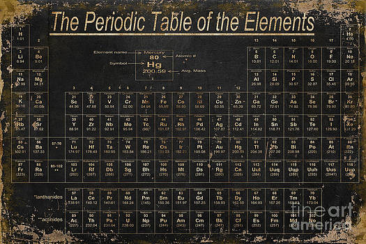 Periodic Table of the Elements by Grace Pullen