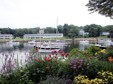 Perkins Cove by Charlene Reinauer