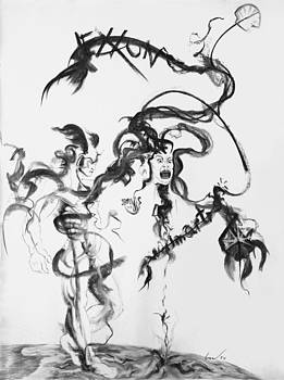 Perseus Slays Medusa by Richard Claraval
