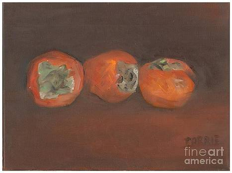 Persimmons by Carrie Williams