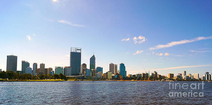 Perth City  by Cassandra Buckley