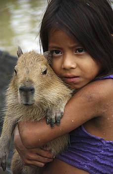 Peruvian Girl by Claudio Bacinello