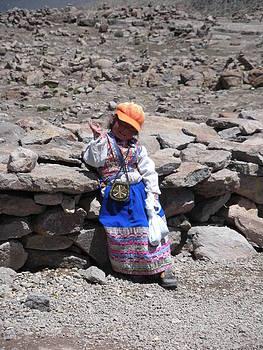 Peruvian Greetings by Isabella Rocha