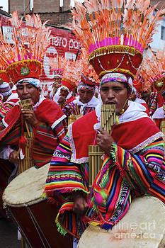 James Brunker - Peruvian Panpipe Musicians