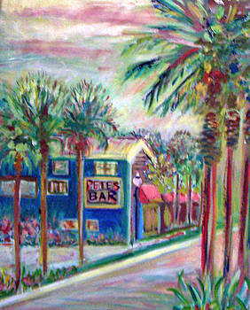 Pete's Bar in Neptune Beach by Patricia Taylor