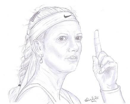 Petra Kvitova by Steven White
