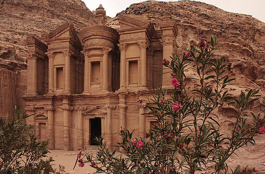Petra Monastery by Linda Russell