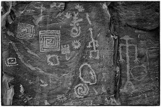 Petroglyph by Eugene Dailey
