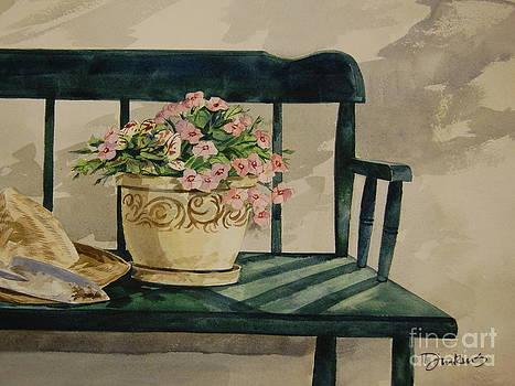 Petunias by Bill Dinkins