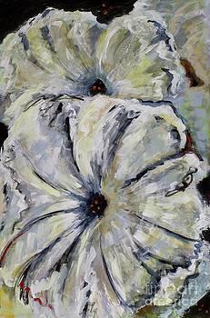 Petunias by Frances Marino