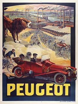 Peugot by Vintage Images