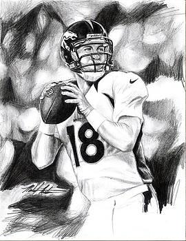 Peyton Manning by Michael Mestas