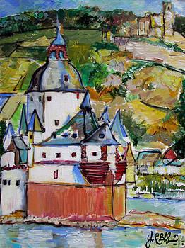 Jon Baldwin  Art - Pfalz Castle