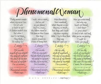 Phenomenal Woman by Sally Penley