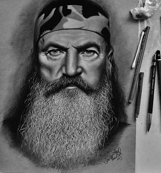 Phil Robertson.. just completed by Samantha Howell