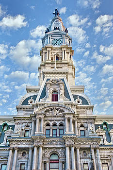 David Zanzinger - Phila City Hall Clock Tower