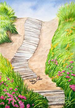 Philbin Beach Path by Michelle Wiarda