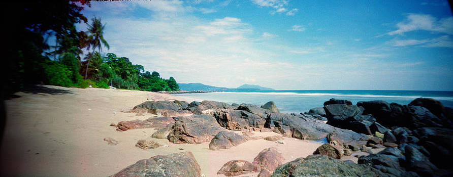 Phuket Beach Pinhole image by Duane Bigsby