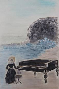 Piano lesson by Alina Craciun